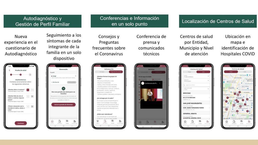 Desarrollan Santander y Bbva México plataforma digital contra el COVID-19