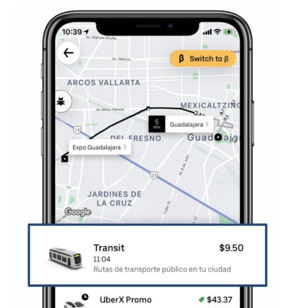 Transit de Uber