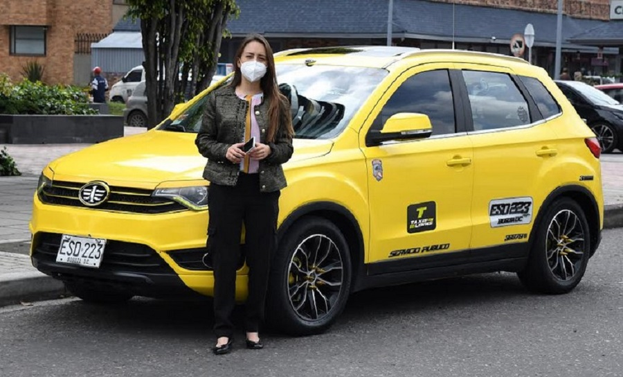 Stefanía Hernández, gerente general de Taxis Libres
