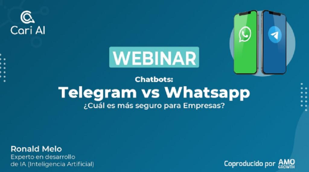 ¿Whatsapp o Telegram?: Cari AI da la respuesta