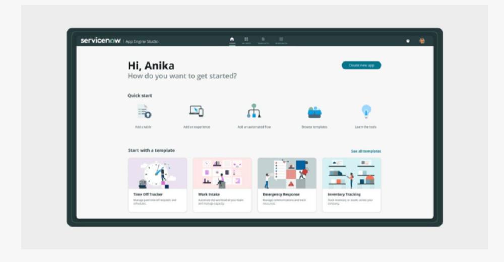Now Platform presenta una nueva versión desarrollada por ServiceNow