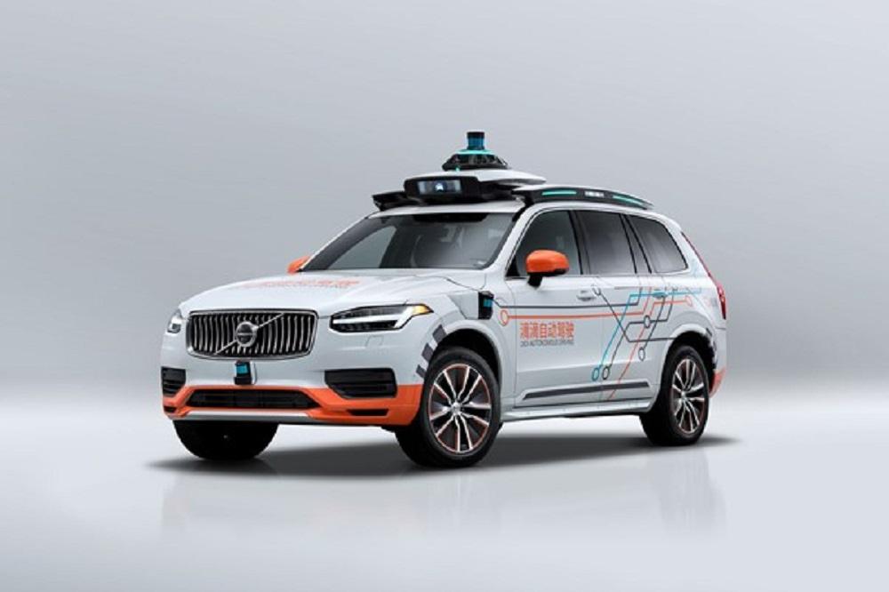 Volvo se une a DiDi para su flota de prueba de vehículos autónomos