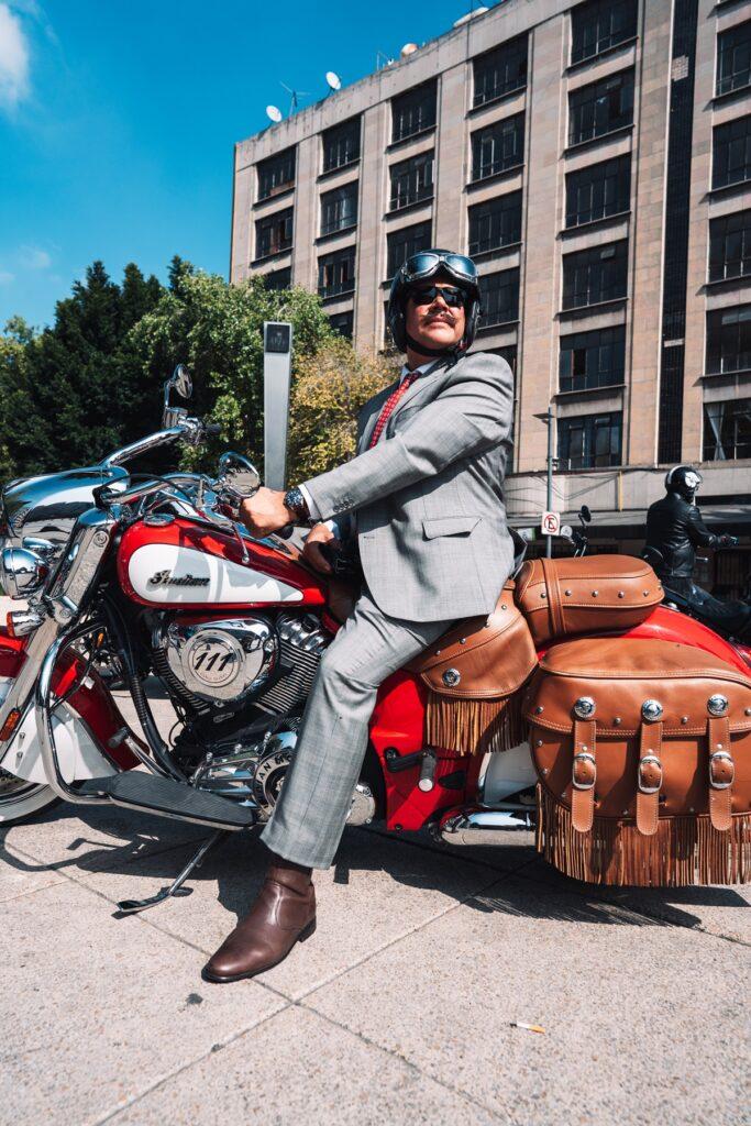 Robert's y The Distinguished Gentleman's Ride se unen