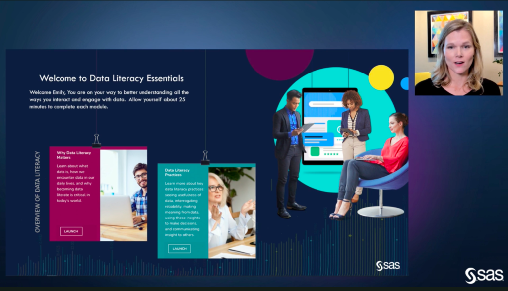 Data Literacy Essentials, una herramienta desarrollada por SAS Analytics