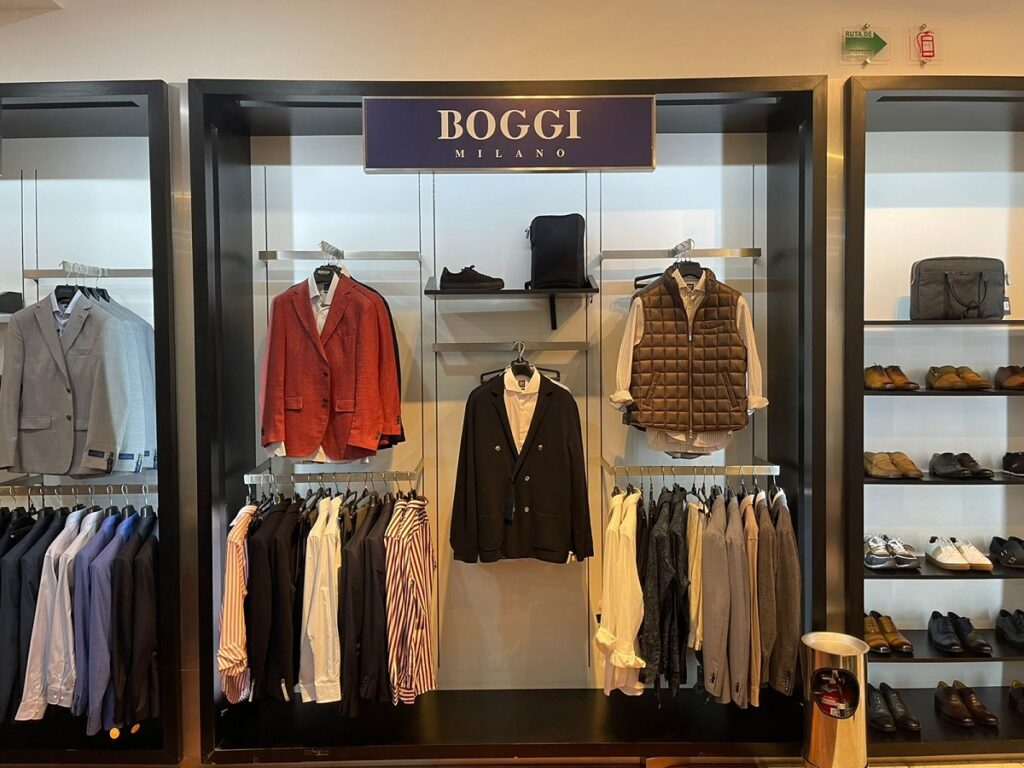 Boggi Milano llega a High Life Andares