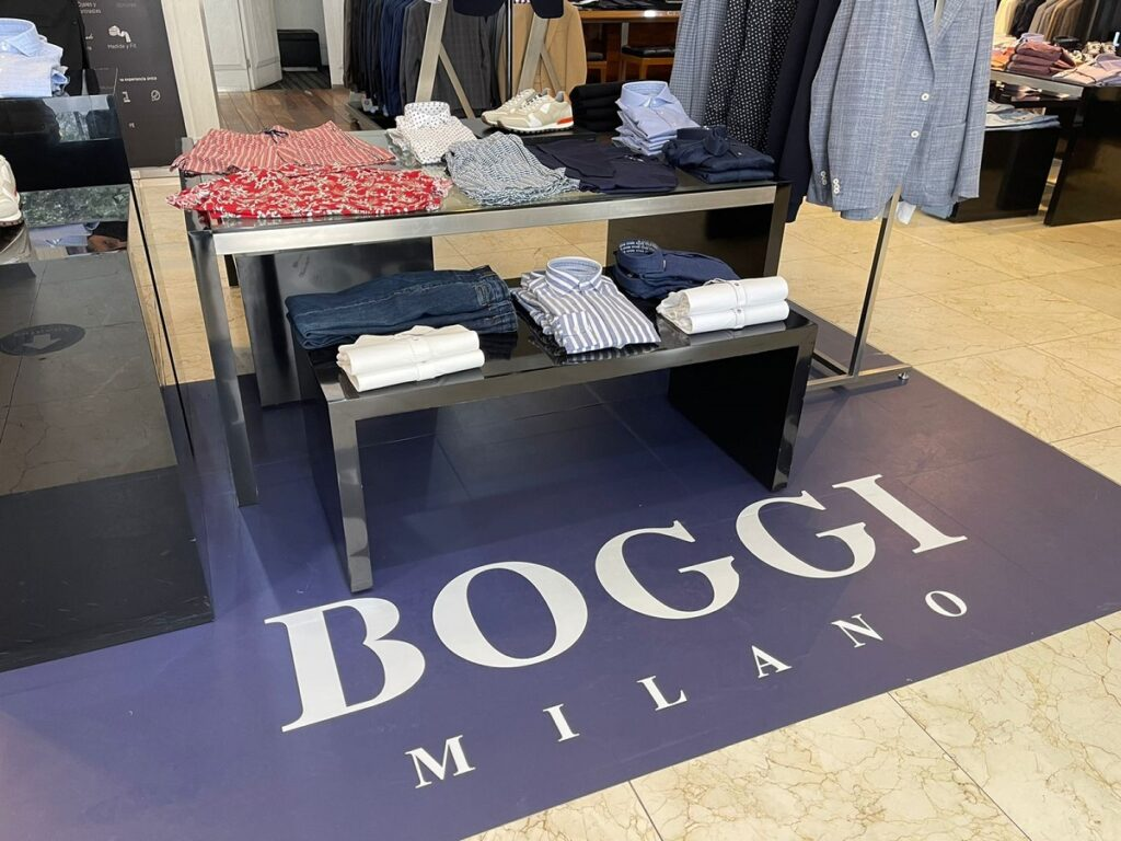 El sello de Boggi Milano